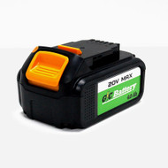 G/C Battery 4Ah Samsung Lithium-Ion Replacement Battery for DEWALT 20V MAX