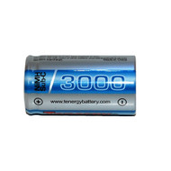 Tenergy 1.2V 3000mAh Ni-MH Sub C Rechargeable Flat Top Battery Item # 10516