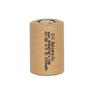 1 G/C Battery 1.2V 2100mAh NiMH 4/5 Sub C Flat Top Rechargeable Battery