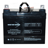 Bright Way Group 12V 35AH SLA Battery with F7 nut & bolt Terminal