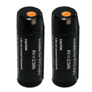 2pk Replacement 2.0Ah Lithium-ion Battery for Ryobi Ryobi 4V Model AP4001 for Tek4 Tools