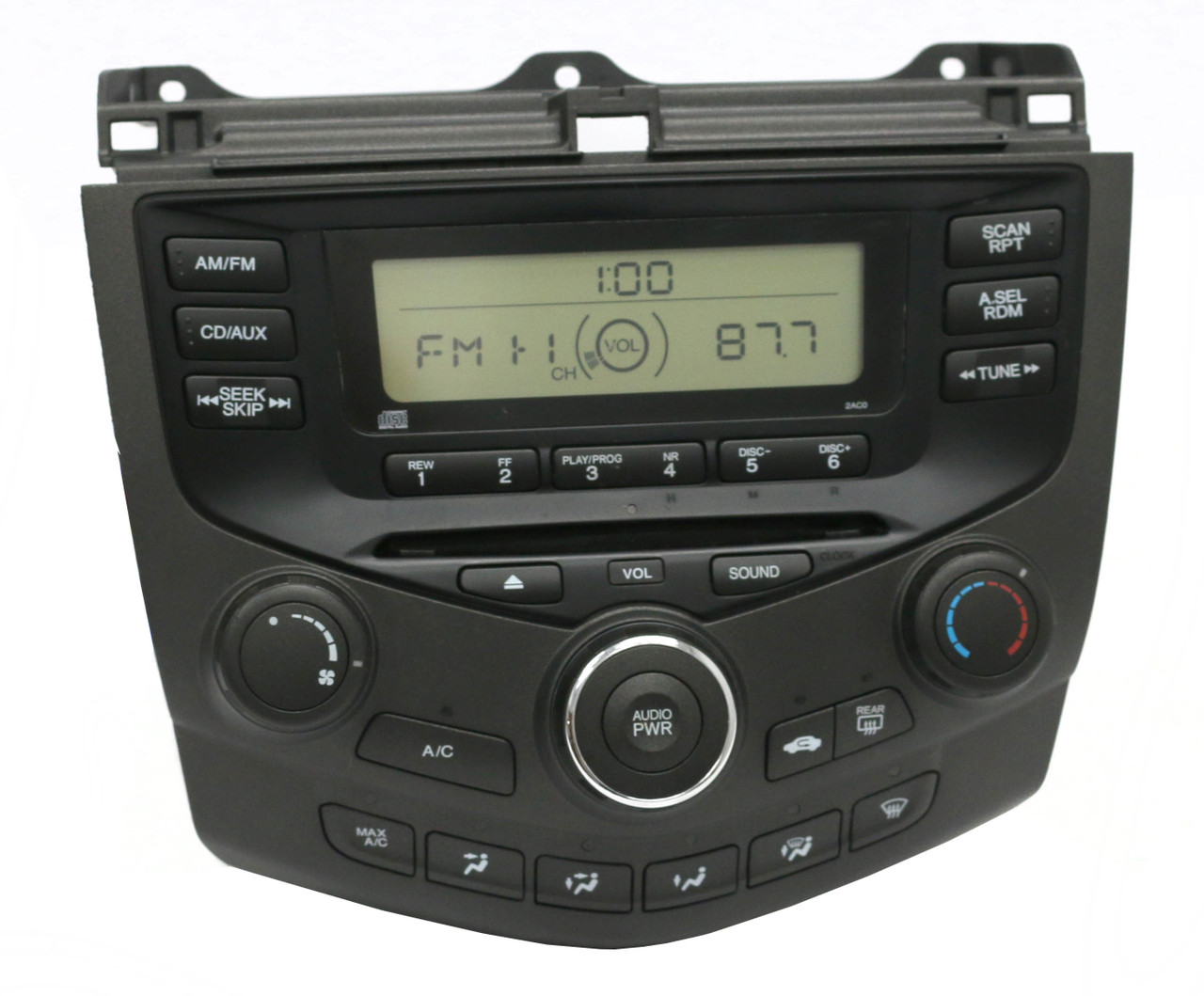 Honda Accord Colors >> 2003-2007 Honda Accord AM FM Radio CD Player w Temp ...