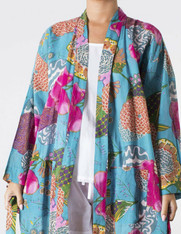 Samara  Aqua Kimono (Sold Out)