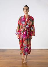 Samara Red Kimono