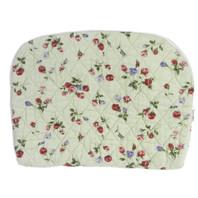 Green Flower Medium Padded Bag