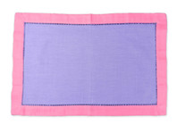 S/4 Placemat Purple and Pink