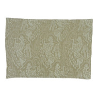 Heraldic Damask Placemat Earth S/12