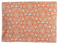 Cora Tablecloths - Coral   Cotton 130X180cm