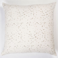 Terrazo Pigment Printed Linen Square Cushion Cover 55cm
