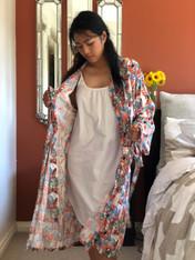 A Leaf Orange Kimono -New!-