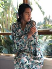 A Leaf Blue Kimono -New!-