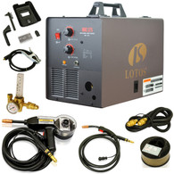 MIG Welder 220-Volt 175-Amp MIG175 Wire Feed Welder with Spool Gun