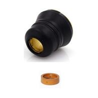 LOTOS NCON02 2 Pieces Plasma Cutter Consumables Set for LTP5500D