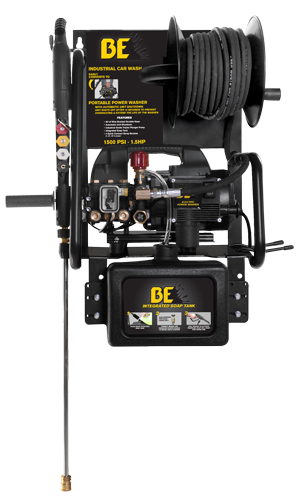 BE Electric Wall Mount Pressure Washer 1.5HP 110v | P1515EPNW