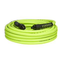"Flexzilla Pro Air Hose, 3/8"" x 50', 1/4"" MNPT Fittings 