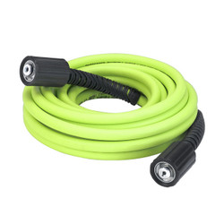 "Flexzilla Pressure Washer Hose with M22 Fittings, 1/4"" x 25' 