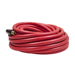 "Flexzilla Workforce® Air Hose, 3/8"" x 35', 1/4"" Fittings, Rubber 
