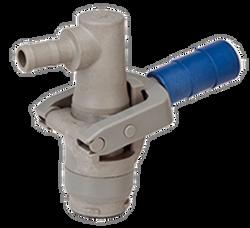 Dura Composite RPV Dispense Coupler BARBED Liquid Outlet | DP-R3714 EPDM