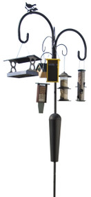 Liberty Products Old Faithful Birdfeeder Pole and Hooks | YSOF08