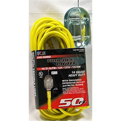 U.S. Wire 50' 3-Conductor Temp-Flex-35 Trouble Light |  TL650