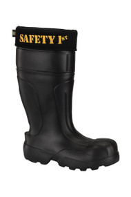 Ultralight Men's Safety & Work Boots, Black | SAFE1