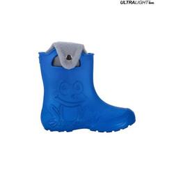 Ultralight Children's Rain Boots, Navy Blue   FROGGY
