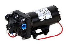 "Shurflo 12 Volt Electric Pump with 1/2"" npsm Inlet x 1/2"" npsm Outlet 