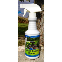 JC's Wildlife Care Free Birdbath Statuary Cleaner, 16oz Spray Bottle | CF98510D