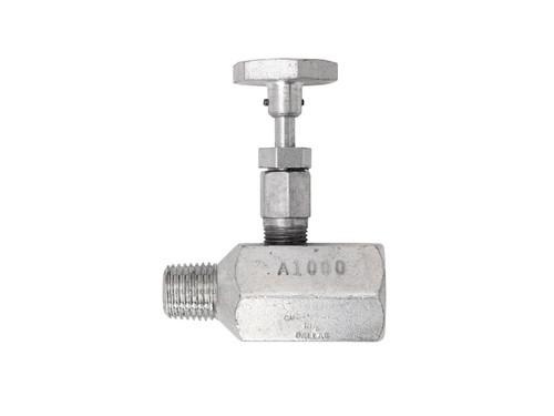 "Continental 1/4"" Shutoff Needle Valve | A-1000"