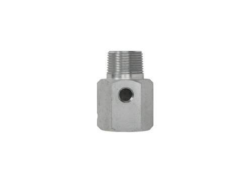 "Continental NH3 1 1/2"" Bleeder & Gauge Adapter  