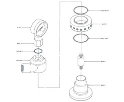 Continental A-MVD Series Vertical Dam Manifold Repair Kit | MVD-RK