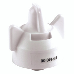 Hypro - Hi-Flow 140 Degree Wide-Angle Flat Fan Spray Tip - White