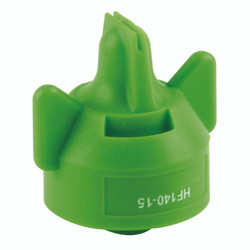 Hypro - Hi-Flow 140 Degree Wide-Angle Flat Fan Spray Tip - Light Green