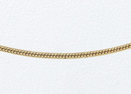14k Yellow Gold Snake Chain 18 inch (0.9mm) - 99126