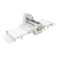 """American Eagle Food Machinery Elite Series Commercial Dough Sheeter, Bench Type 20.5""""W x 71""""L, 220V/1Ph/1/2HP, AE-DSE52B - Side"""