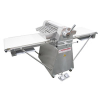 """AE-DS52-SS 1/2HP Stainless Steel Dough Sheeter Floor Type 20.5""""W x 82.75""""L, 220V/1Ph"""