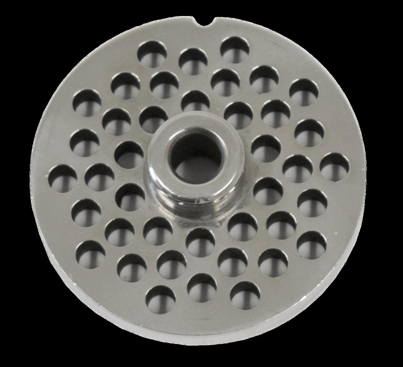 Elbplanke Ä Tännsch N Please: 6mm #12 Meat Grinder Plate Stainless Steel American Eagle