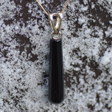 Whitby Jet and 9ct gold pendant 026JD