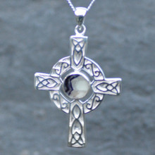 Blue John Celtic Cross Pendant 065BJS