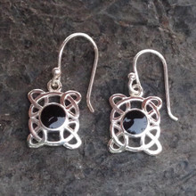 Celtic Jet earrings