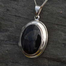 Whitby Jet Locket