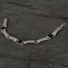 Celtic Jet bracelet