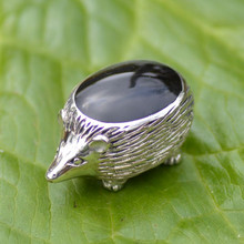 Whitby Jet Hedgehog