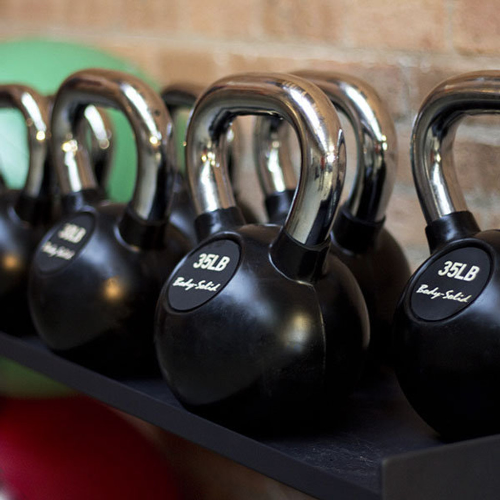 Kettlebells - Gym - Chrome Handles - Body Solid