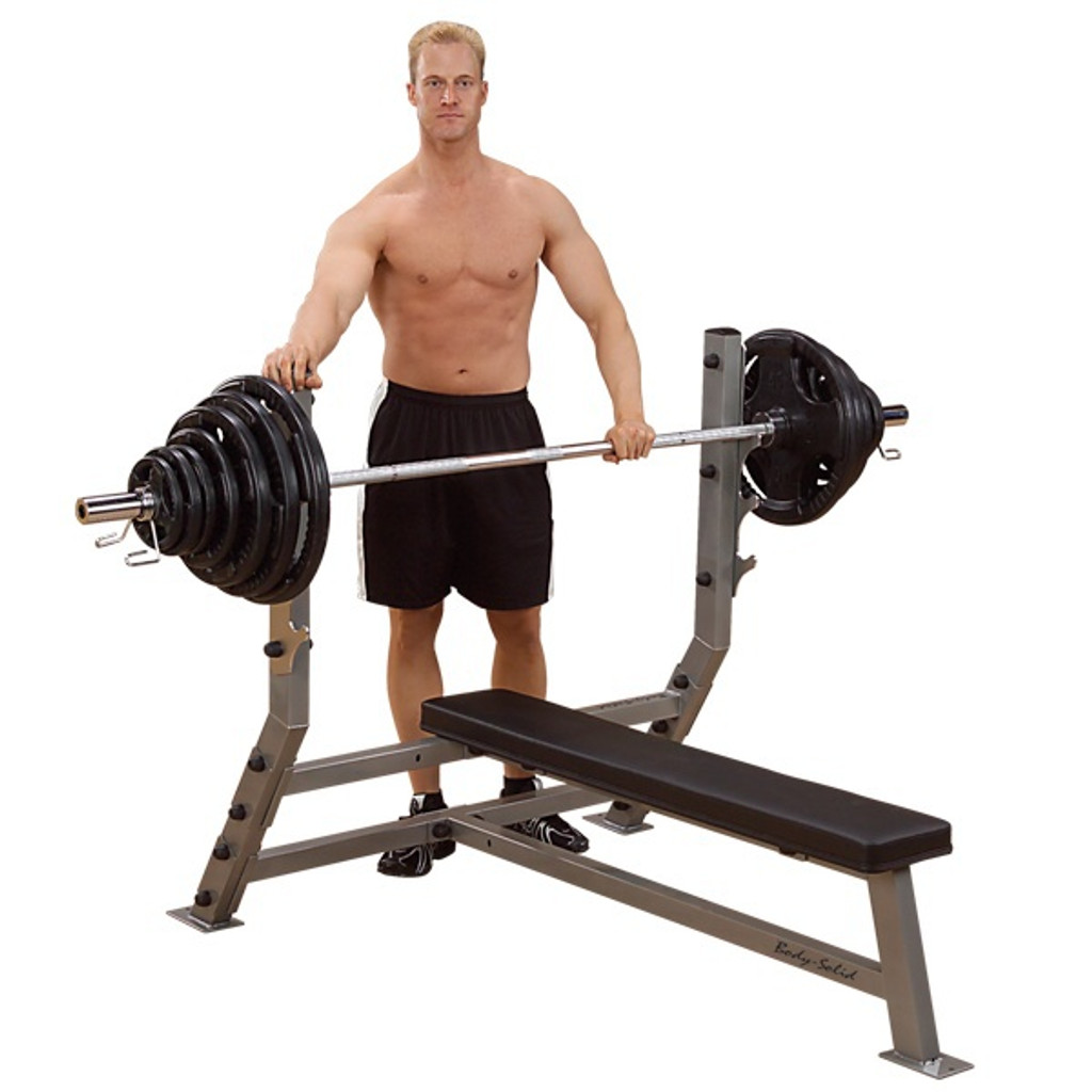 Body Solid Flat Bench Press
