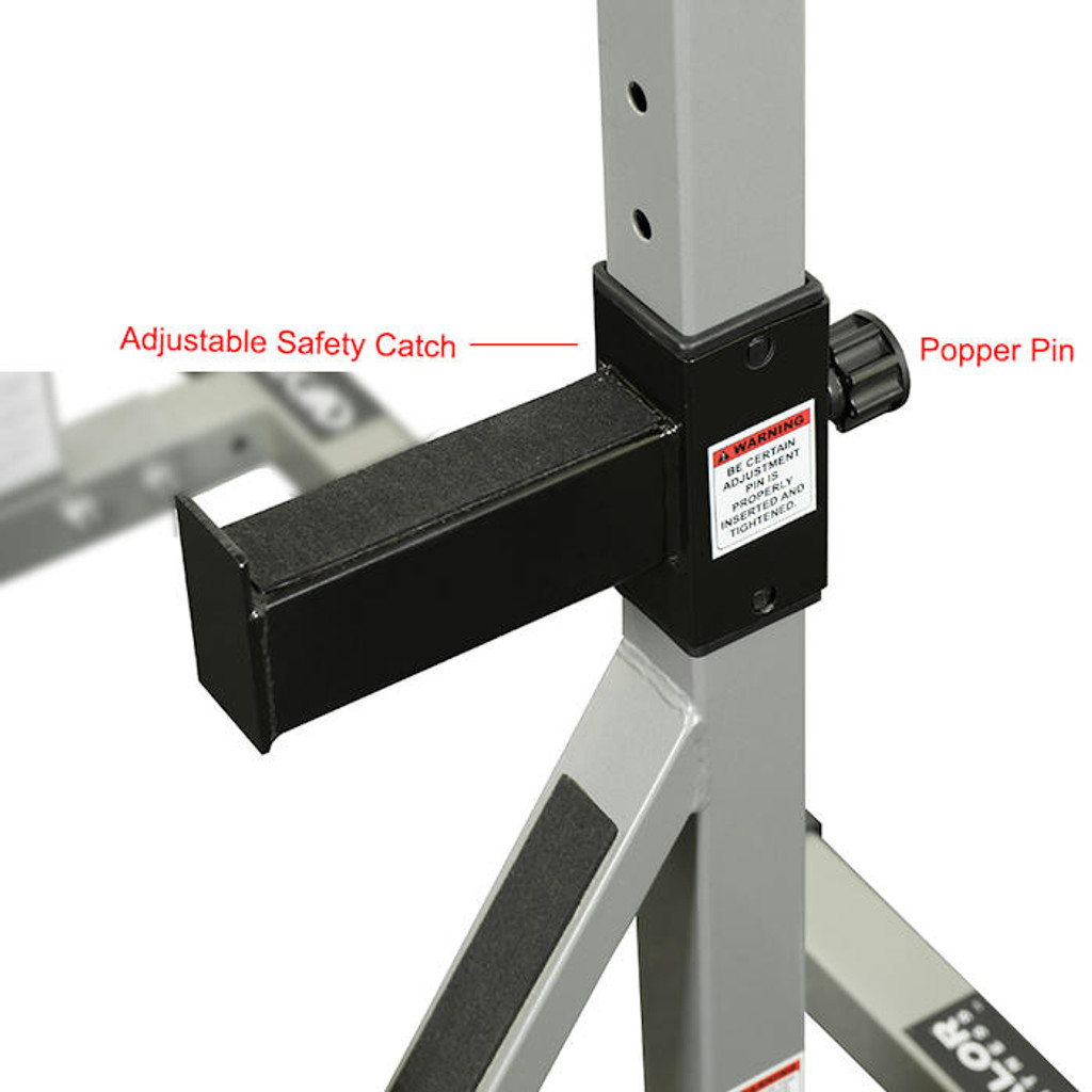 Adjustable Safety Stop - Squat Stand - Valor Fitness