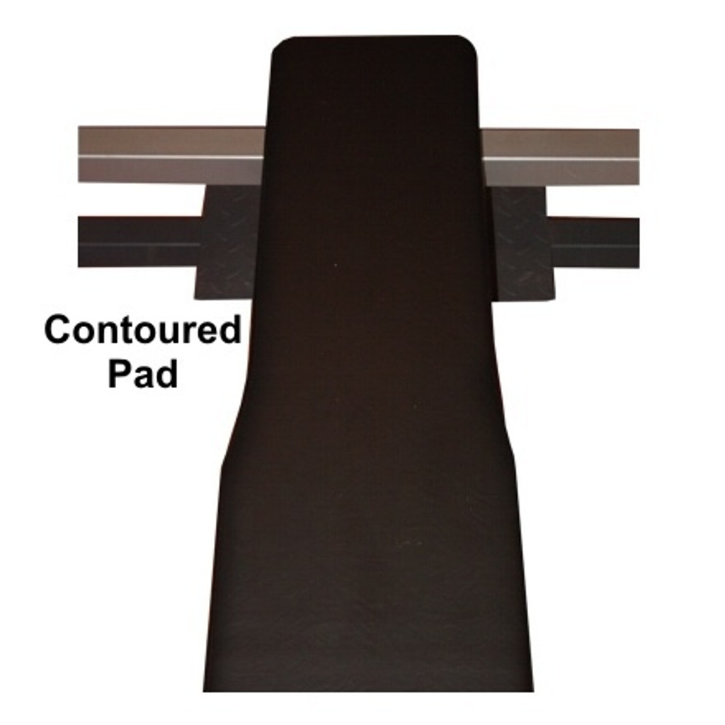 Valor Fitness Flat Olympic Bench Press Contoured Padding
