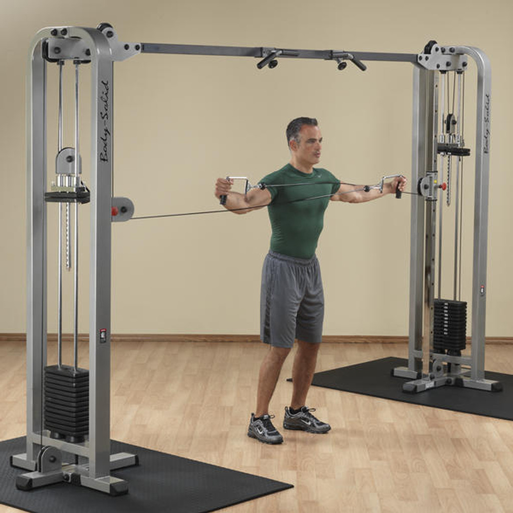 Body Solid Pro Cable Cross Machine