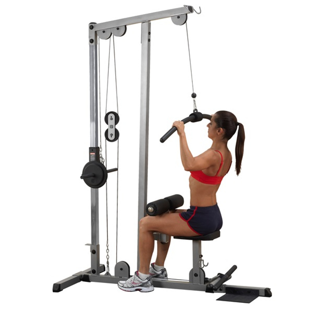 Machine - Lat - Plate Load - Body Solid