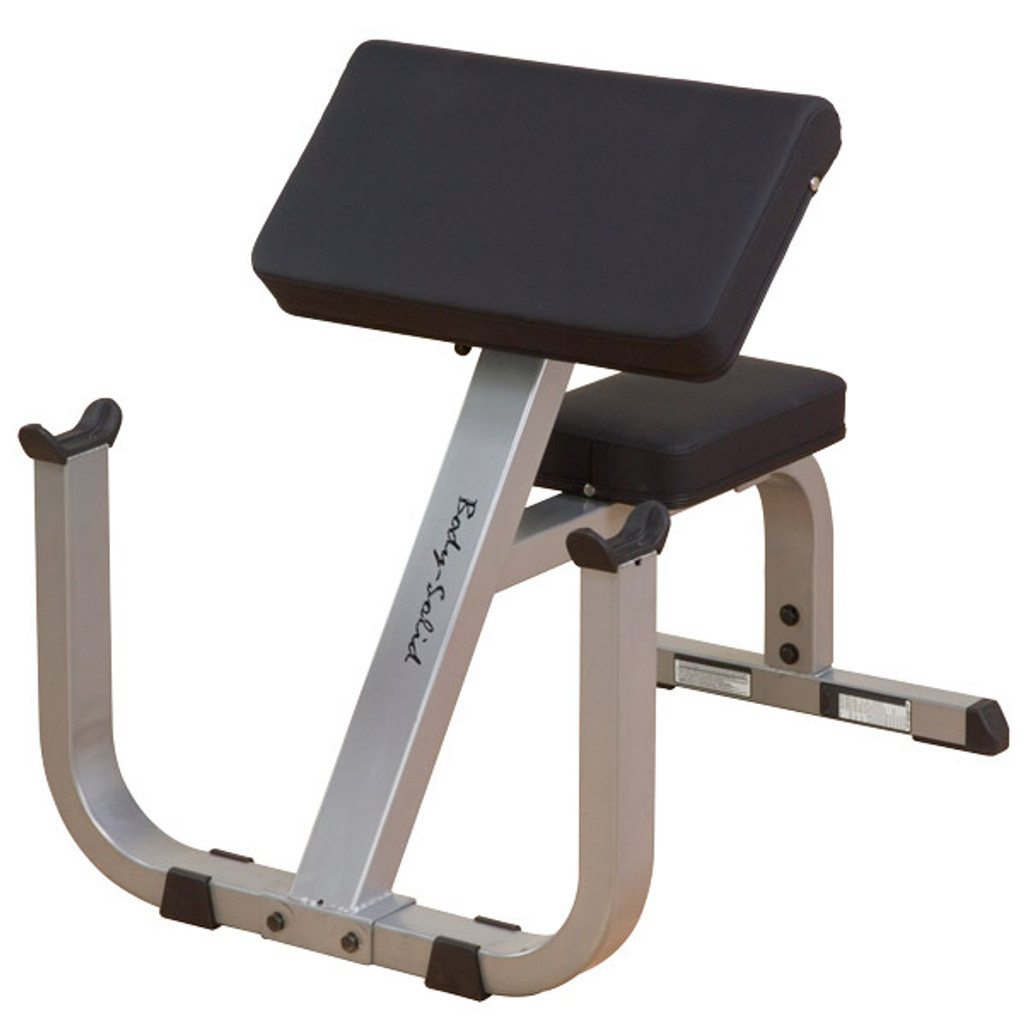 Body Solid Preacher/Arm Curl Bench